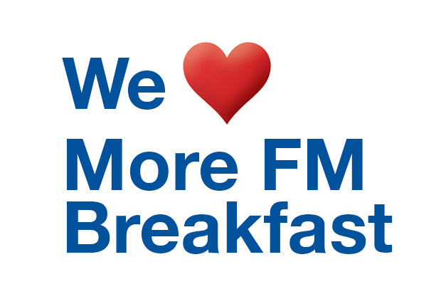 More FM Breakfast with Hayley Holt and Stu Tolan