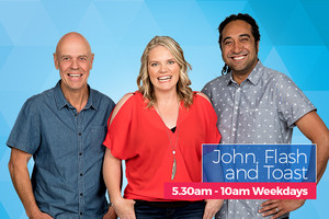 More FM Breakfast with John, Flash and Toast