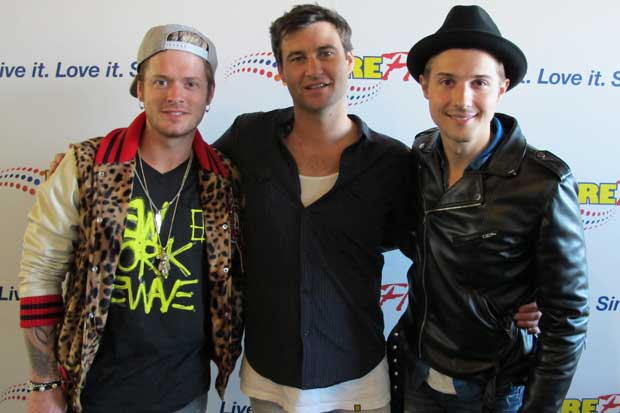 Hot Chelle Rae In Studio With Clarke