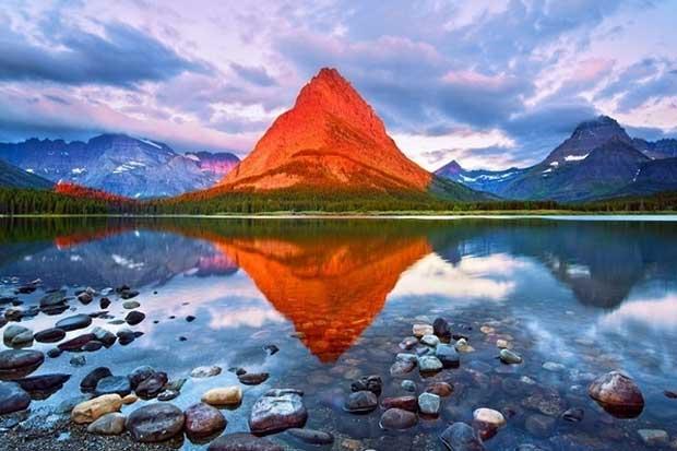 Mount Grinnell - Glacier National Park, Montana