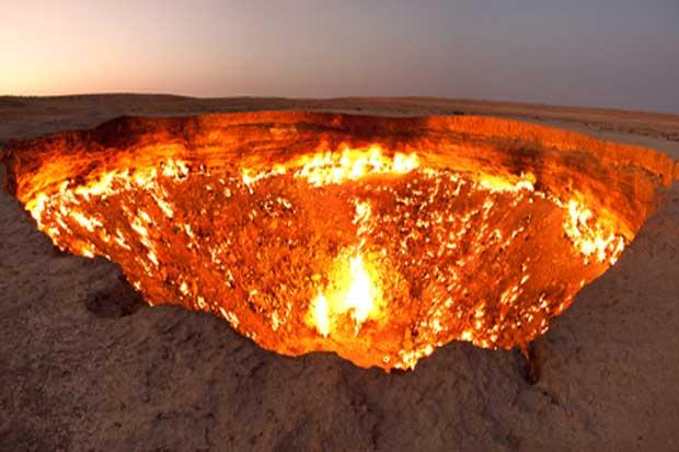 Door to Hell - Derweze, Turkmenistan