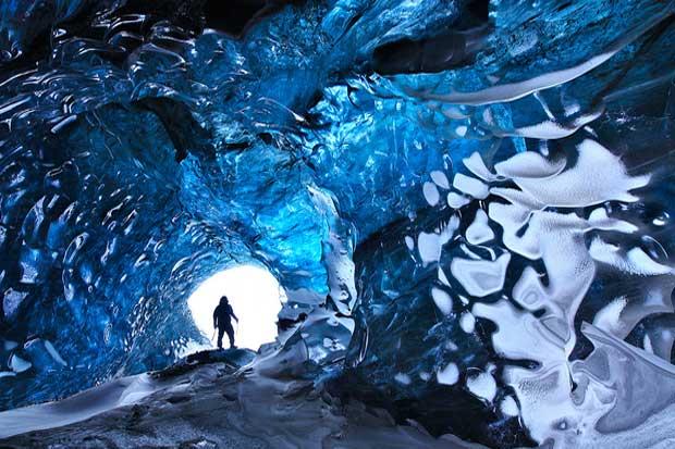 Crystal Cave - Skaftafell, Iceland