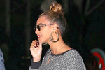 Beyonce wears Obama earrings