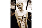 Miley Cyrus tweeted this picture of her Obama t-shirt