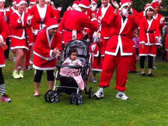 Waikato Great KidsCan Santa Run 2012 PHOTOS