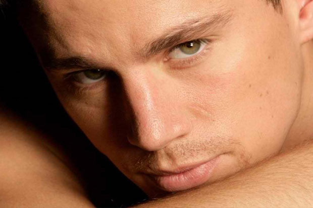 Channing Tatum - what an amazing eye colour!