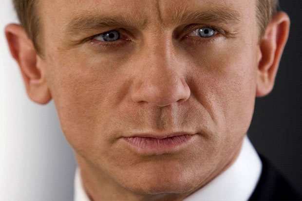 Daniel Craig - and another one. Amazing blue eyes!