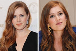 Amy Adams and Isla Fisher - only the eye colour is different!