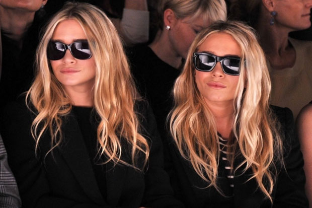 Mary-Kate and Ashley Olsen - okay, they are actually twins. But they are fraternal, not identical ones.