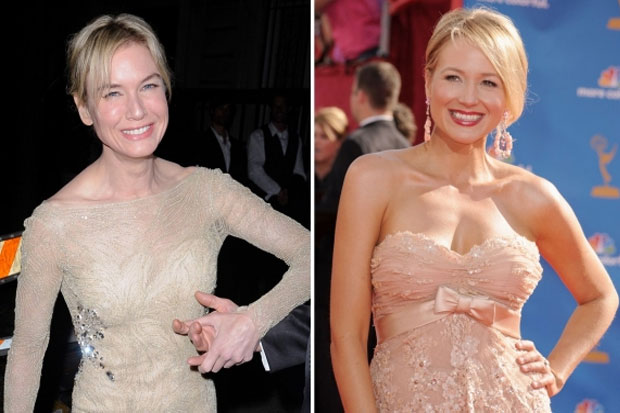 Renee Zellweger and Jewel - look very similar