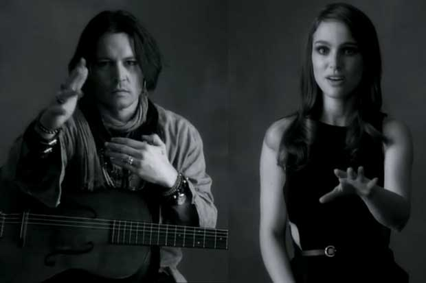 "Breathtakingly Beautiful Song 'My Valentine"" Featuring Natalie Portman And Johnny Depp"