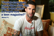 Online Complaints about the Sexiest Man Alive 2013