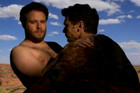 James Franco And Seth Rogen 'Bound 2' Parody