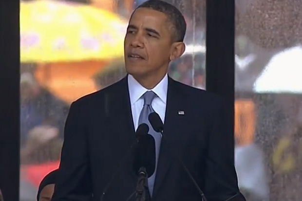 Barack Obama Calls Nelson Mandela 'The Last Great Liberator'