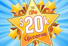 The Christchurch Casino's Big 20k Giveaway!