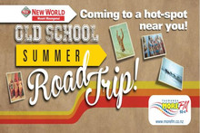 The Mount New World Old School Summer Road Trip!