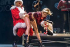 OMG Miley Cyrus Twerks On Santa Claus