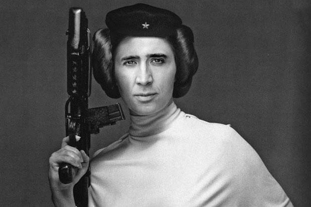 Nicolas Cage Face On Everything
