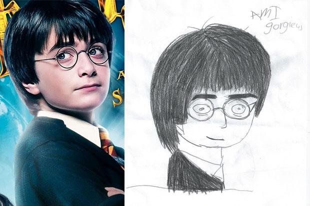 Is Harry Potter 'gorgieus'?