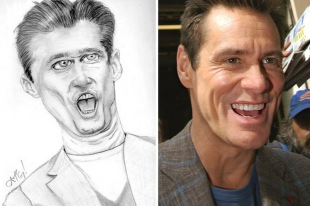 Is that Jim Carrey or a toothy worm?