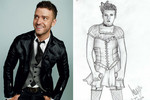 When did Justin Timberlake dress as a hooker?