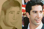 Is it Ross Gellar from 'Friends' or a monkey?