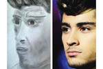 One Direction's Zayn Malik did not have the right art direction.