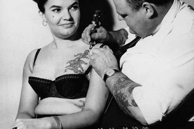 Just getting another tat, NBD, 1964.