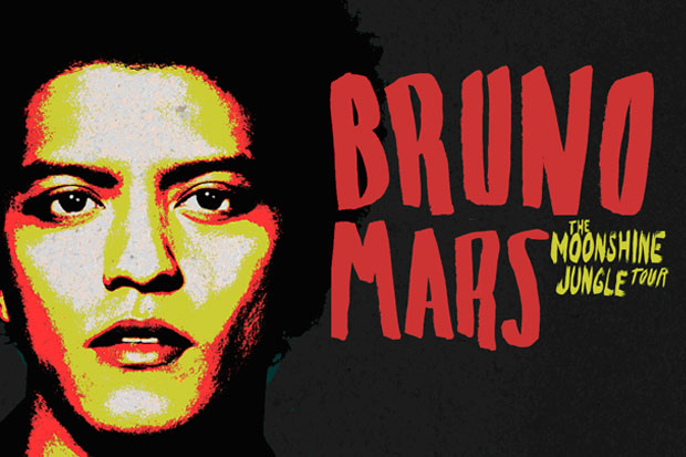 Bruno Mars is Back for Another New Zealand Concert!
