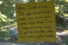 A 'Stay at Home' Dad's Life in Notes