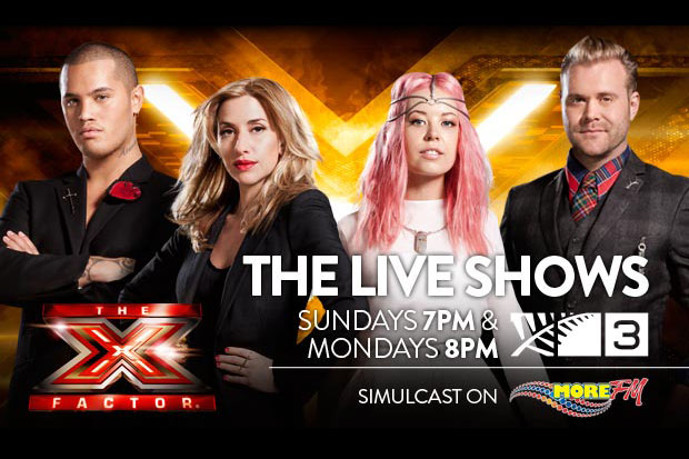 Listen Live to The X Factor NZ on More FM!