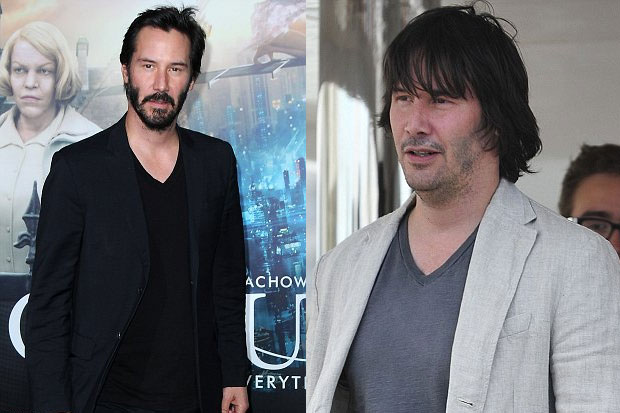 Unrecognisable Keanu Reeves!