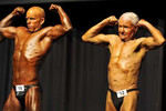 Far from sitting back and relaxing is Raymond Moon who is the oldest competitive bodybuilder in the world.