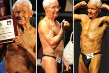OMG 83-Year-Old Bodybuilder