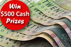 Be In To Win $500 Cash Prizes By Completing Our Questionnaire