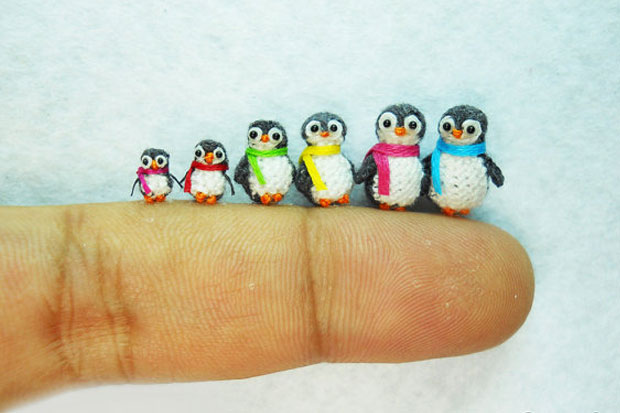 Tiny Adorable Knitted and Crocheted Things!