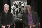 Morgan Freeman Falls Asleep During A Live Television Interview