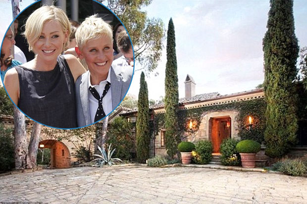 Check Out Ellen and Portia's New Weekend House!