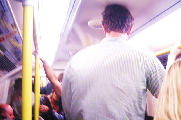 Public transport is never comfortable.