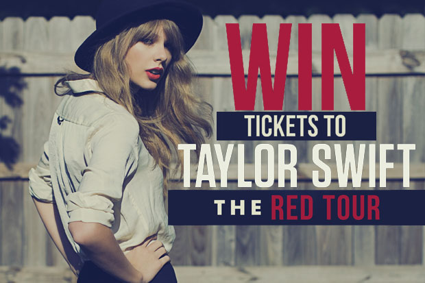 Win Tickets to Taylor Swift's THE RED TOUR