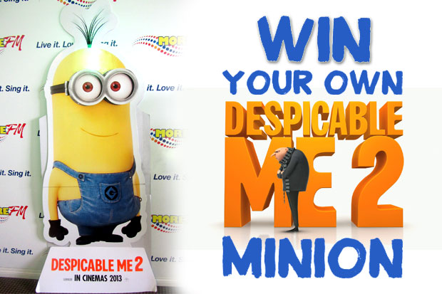 Win A Giant Despicable Me 2 Minion!