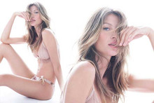 Gisele Bundchen In Her Own New Lingerie Collection
