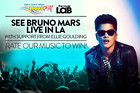 WIN TICKETS TO BRUNO MARS LIVE IN L.A.