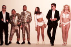 Jimmy Kimmel Crashes Robin Thicke's 'Blurred Lines'