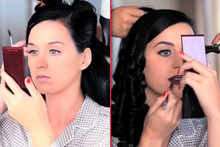 Katy Perry On Beauty Insecurities And Dying Her Hair Black
