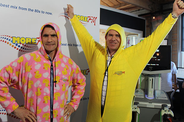 Kevin and Jamie Tackle the More Day Onesie Challenge