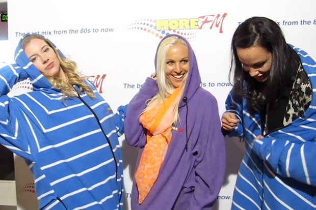 Ladies of Shortland Street Try the Onesie Challenge