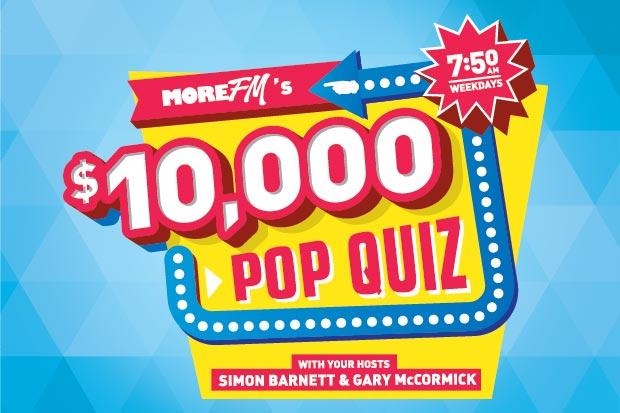 Win Si & Gary's $10,000 Pop Quiz