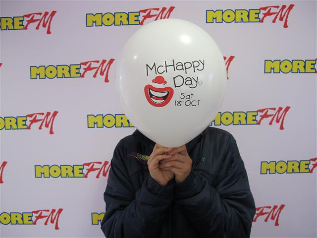 McHappy Day More FM Photo Wall