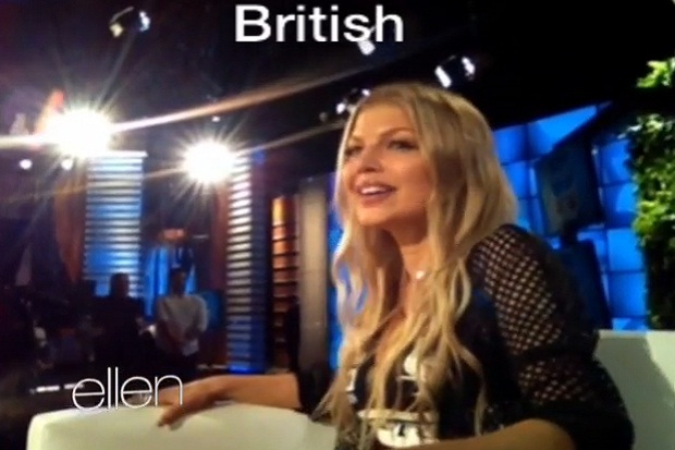 Fergie Shows Off Her Talent For Accents!